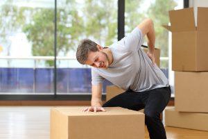 déménager sans se faire mal blessure
