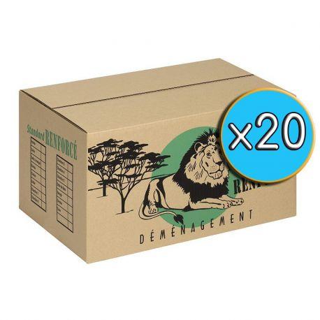 Cartons 'STANDARD' pack x20