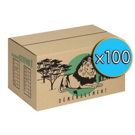 Cartons 'STANDARD' pack x100
