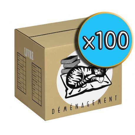Cartons 'LIVRE' pack x100