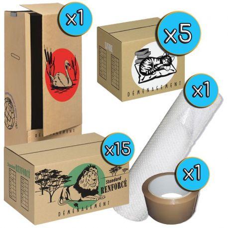 Pack cartons M