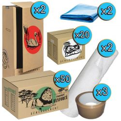 Pack cartons XL