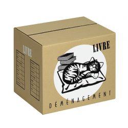 Carton 'LIVRE'