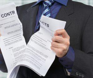 Résiliation des contrats d'abonnement avant de déménager