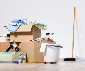 Odeur de peinture, poussières… Nettoyer après déménagement